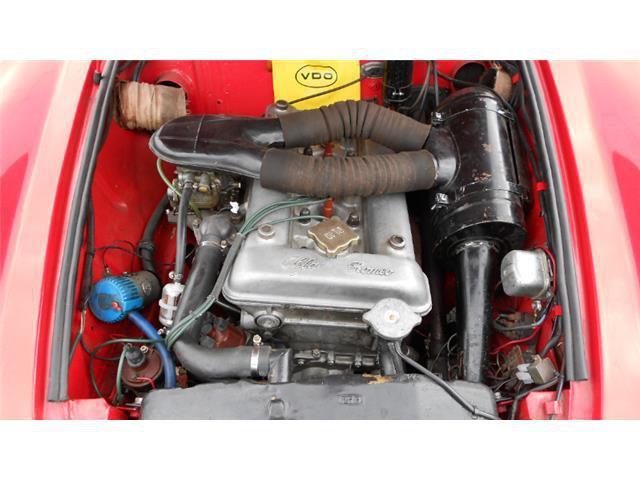 Auto d'Epoca Alfa Romeo Spider 1036296