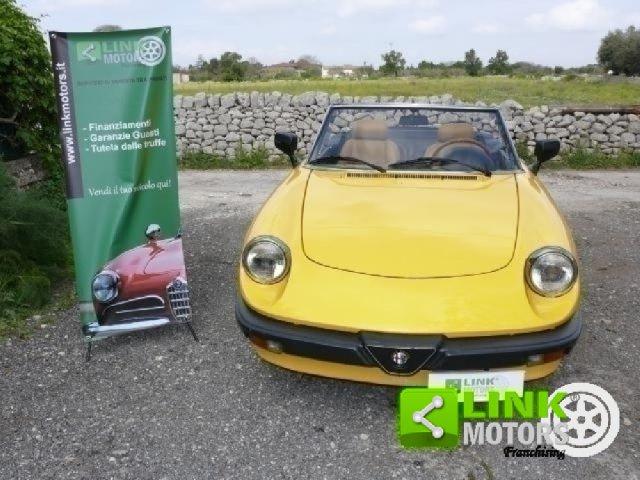 Auto d'Epoca Alfa Romeo Spider 1206447