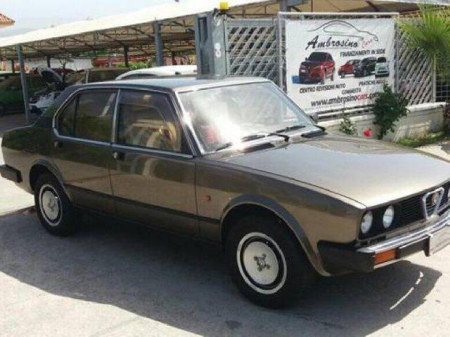 Auto Usate Alfa Romeo Alfetta 1238497