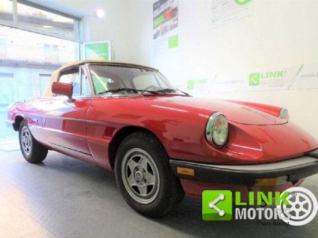 Auto d'Epoca Alfa Romeo Spider 1346397
