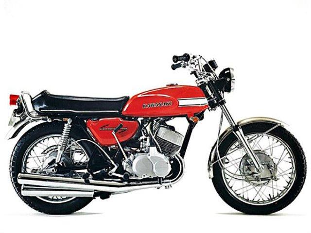Moto d'Epoca Kawasaki H1 500 929284